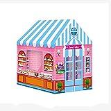Tienda de campaña para niños, interior y exterior, princesa, castillo, castillo, casa de muñecas, hornear, casa, casa pequeña, parque de juegos, dulce, castillo de princesa, para niños y niñas