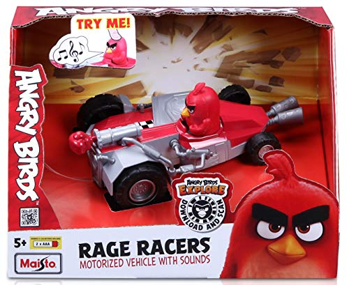Angry Birds Rage Racers - Vehículo motorizado con Sonidos