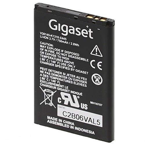 Gigaset 2310576 Batterie, 3.7 V, 750 mAh Schwarz