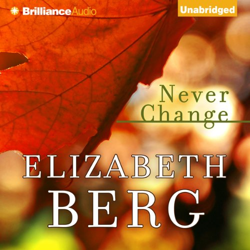 Never Change audiobook cover art