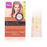 Taky Beauty Oil - Bandas depilatorias facial, 12 unidades, 200 gr