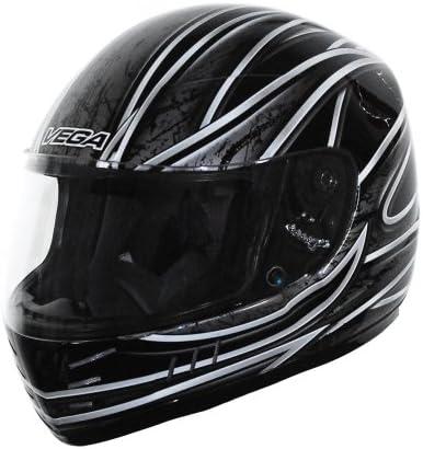 Vega Trak Junior Full Face Karting Helmet with Universe Graphic Black Large product image
