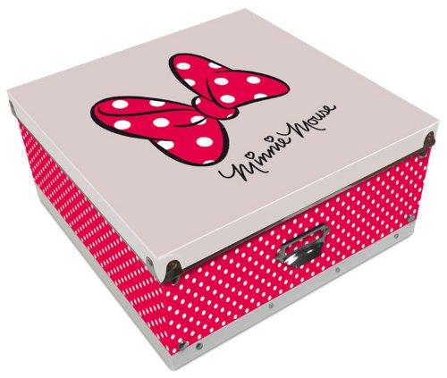 Minnie Maus Aufbewahrungsbox [32x32x15 cm, PP] [Import allemand]