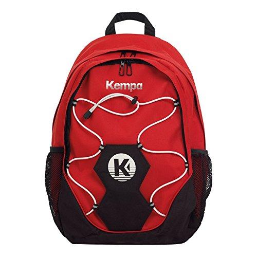 Kempa 200490401, Mochila Unisex Adulto, Rojo (Rojo/Negro/Blanco), 24x36x45 cm