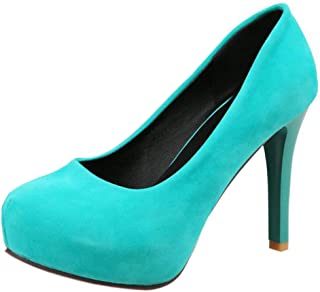 RAZAMAZA Women Fashion Stiletto Court Shoes Slip On