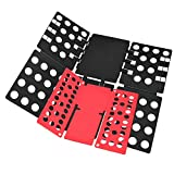 T shirt Clothes Folder T-shirt Folding Board Flip Fold Laundry Organizer Easy and Fast for Kid and Adult to Fold Clothes