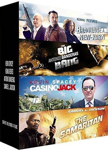 Hollywood : Braquage à New York + The Big Bang + Ca$ino Jack + The Samaritan [Francia] [DVD]