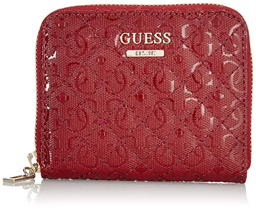 Guess - Wilona, Carteras Mujer, Rojo (Merlot), 2x10x11 cm (W x H L)