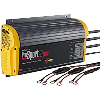 Promariner 43021 Battery Charger Prosport 20 Amp - 3 Bank