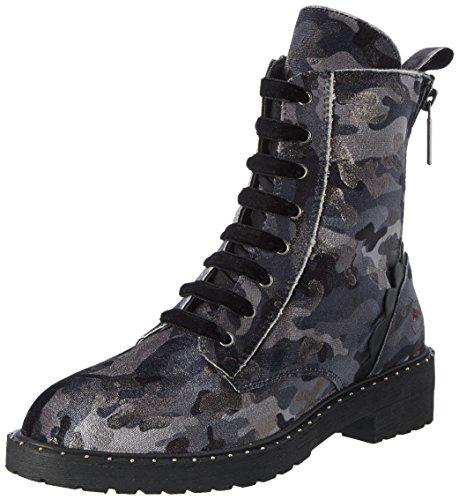 Fornarina Kim, Zapatos de Cordones Brogue para Mujer, Gris (Grey 006), 39 EU
