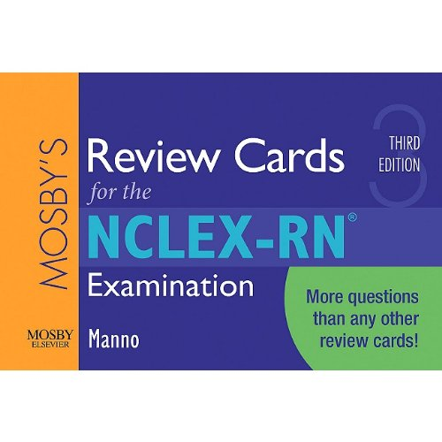 Mosbys Review Cards For The Nclex Rn Examination 3e