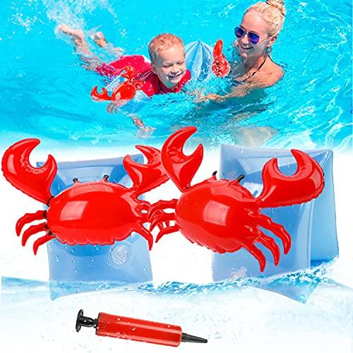 Manguitos de natación para niños a partir de 2 – 5 años, ayuda para principiantes de natación, pulsera para niños de 25 kg, juguete para piscina, playa