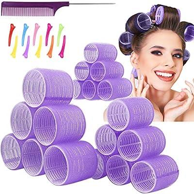 Jumbo Hair Rollers Hair