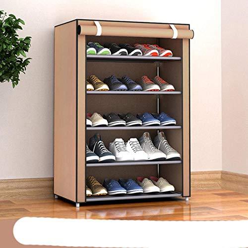 Gran venta tela no tejida almacenamiento zapatero montar zapatos estante DIY casa re-30X60X90CM,Polonia