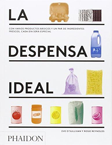 La despensa ideal: Con varios productos básicos y un par de ingredientes fresco (FOOD-COOK)