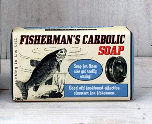 Sting In The Tail Savon exfoliant Carbolique de pêcheur