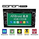 eonon GA9156B Android 8 fit Opel Antara Astra Corsa Vectra Zafira 2Din 17,8cm 7' LCD Indash Digital Audio Video Stereo Autoradio Touchscreen DVD GPS Bluetooth USB FM AM RDS WiFi Headunit...