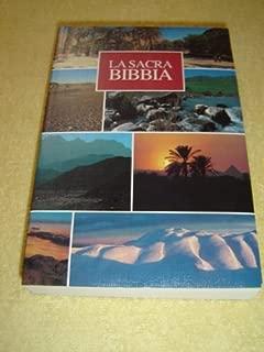 La Sacra Bibbia / Bible in Italian Language / La nuova Diodati / Holy Land Landscape design