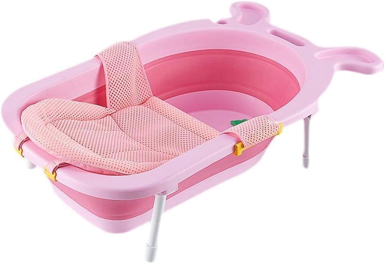 Faltbare Kunststoffbadewanne - Babybadewanne - Babywannensitz-Stütznetz Badewanne Sling Dusche Mesh Bade Cradle Sitzauflage Sling Für Badewanne - 72 X 59 X 58 Cm Groer Raum (Farbe   C)