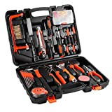 100-Piece Home Tool Kits OUTAD Multi-functional & Universal 100 IN 1 Precision Screwdriver Hammer Set Repair Tool Kit for Household Electronics Test Repair Maintenance