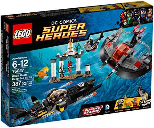 LEGO Super Heroes - Manta Negra Deep Sea Strike (76027) , Modelos/colores Surtidos, 1 Unidad