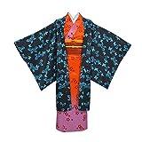 MYYH Anime Ubuyashiki Amane Cosplay Costume Women Kimono Outfit Red