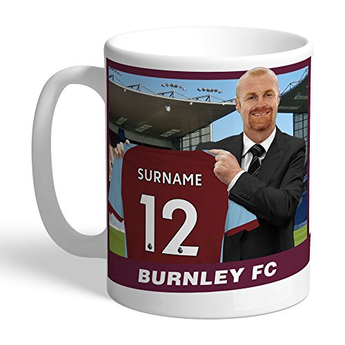 Content Gateway Official PERSONALISED Burnley FC Manager Mug