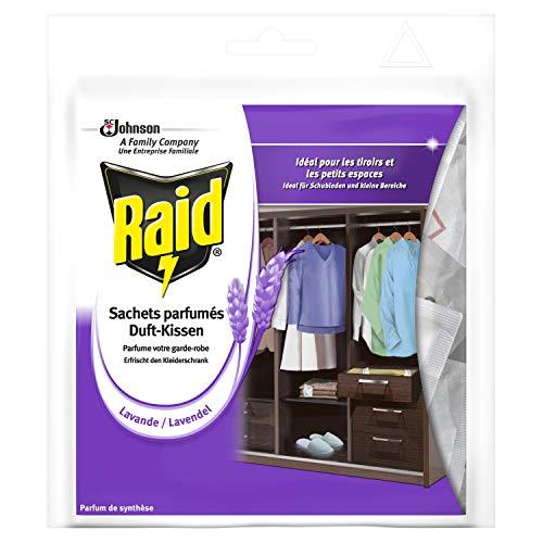 Raid (Paral) Duft-Kissen Lavendel, Lavendelkissen, 1er Pack (1 x 18 Stück)