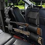 N \ A Car Seat Back Gun Rack, Car Concealed Seat Back Automotive Gun Racks, Gun Sling Bag, to Hold 2 Rifles