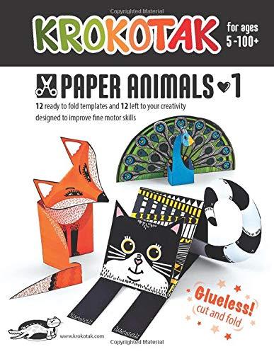 KROKOTAK PAPER ANIMALS 1 (PAPER CRAFT)
