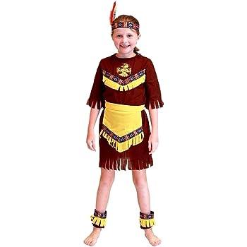 Disfraz de indio - nativo americano - disfraces para niños ...