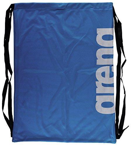 arena Unisex 2-in-1 Netztasche Rucksack Mesh Bag (Schnelltrocknend, Kordelverschluss), Royal Team (71), One Size