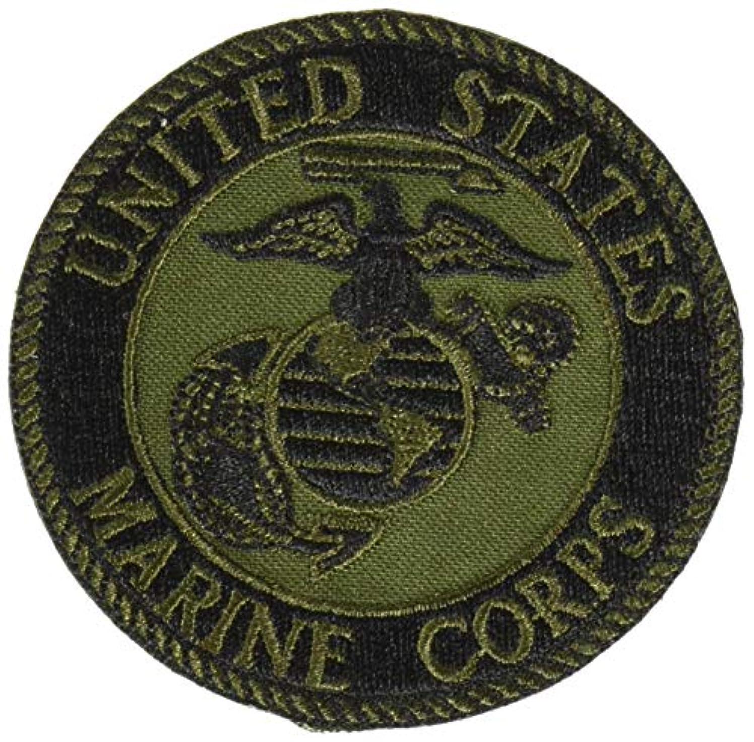 EagleEmblems PM0894 Patch-USMC Logo (03S) (Subdued) (3'')