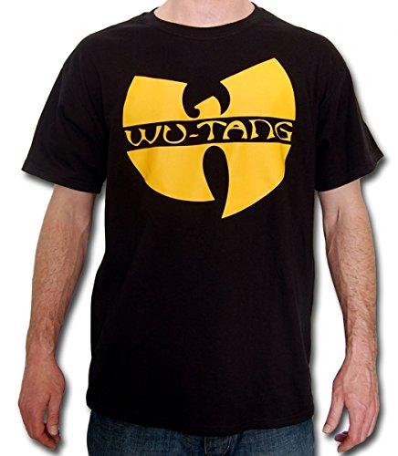 Wu Wear - Wu Tang Clan - Wu-Tang Clan Logo T-Shirt - Wu-Tang Clan Color Black, Size XXL