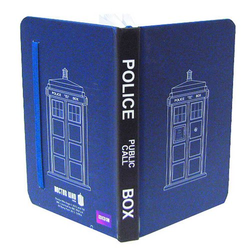 Doctor Who Tardis Mini Journal Notebook