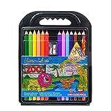 Lapices Colores BLTLYX 12 colores Jumbo Pencils No tóxico Lapis De Cor Jumbo Color Pencil Set Lápiz 175 mm 12 colores