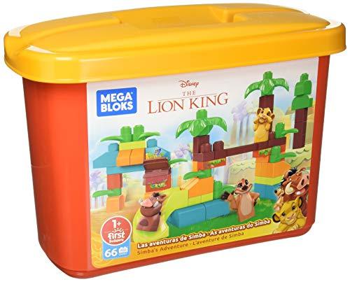 Mega Bloks Disney Aventura Do Simba, 66 Blocos