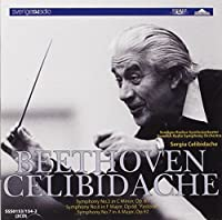 Beethoven:Symphonies 5 6&7 by CELIBIDACHE SWEDISH RADIO SYM