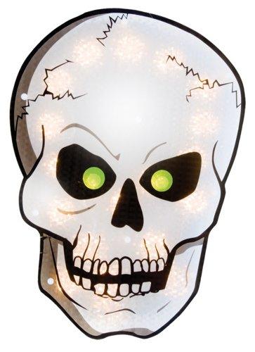 Impact Innovations Halloween Shimmer lumineuses de décoration Tête de mort