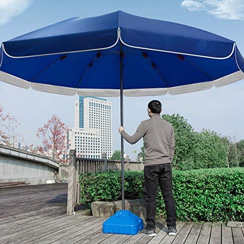 FACAI Sombrillas Terraza Hosteleria Sombrillas Terraza con Pie Pie Sombrillas Terraza Sombrillas Terraza Pequeña,Blue-3.6m