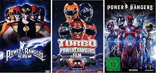 Power Rangers 1-3 DVD Set, deutsch, Powerrangers I,II,III, 1,2,3 dvds, keine Box