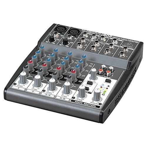 BEHRINGER XENYX 802 MIXING CONSOLE- mixer audio per live, studio, karaoke, ecc.