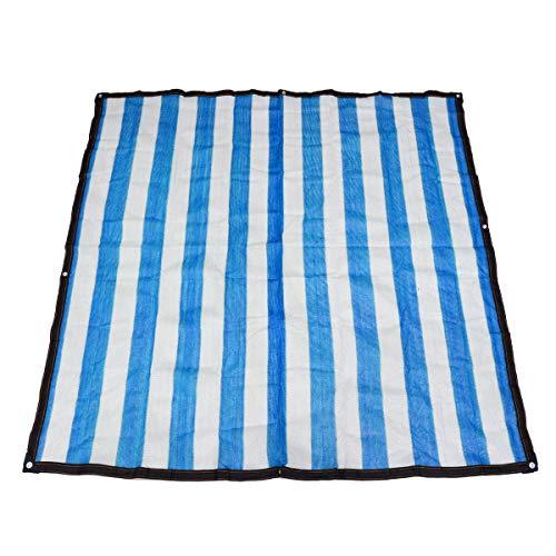 Anti-UV-Sonnenschirm Netto-Garten-Sonnencreme-Sonnencreme Sunblock-Schatten-Tuch-Netz-Anlage (Size : 4 * 5M)
