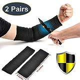 2 Paris Arm Protection Sleeves, Kevlar Cut Resistant Sleeves,...