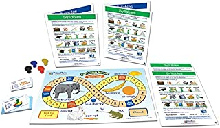 NewPath Learning Syllables Learning Center Game, Gr. 1 to 2