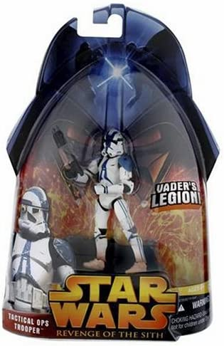 Star Wars Hasbro Revenge of the Sith ROTS 2005 #65 Tactical Ops Trooper Vader/'s
