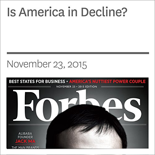 Is America in Decline? audiobook cover art