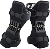 BLACK PERL Knee Braces for Men & Women Spring Knee Booster Power Knee Supportfor Running, Weightlifting, Sports, Squats, Gym Mountaineering Knee Lift Patella Booster