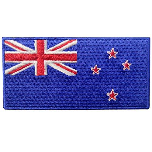 Neuseeland Flagge Flicken Bestickter Aufnäher zum Aufbügeln/Annähen