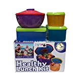 Muren 13pc Healthy Lunch Box Kit Storage Container Bowl Set with Removable ice